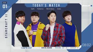 [200.88 MB] [ENG] 2019 GSL S2 Code S RO16 Group D
