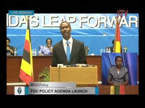 Mugisha Muntu keynote speech at launch of FDC Policy Agenda