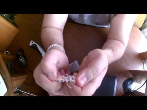 Цепочка на руку мужская, под серебро с Aliepress.