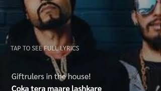 Atom Bomb Lyrics Full Song | Bohemia, Gift rulers | New Punjabi Song