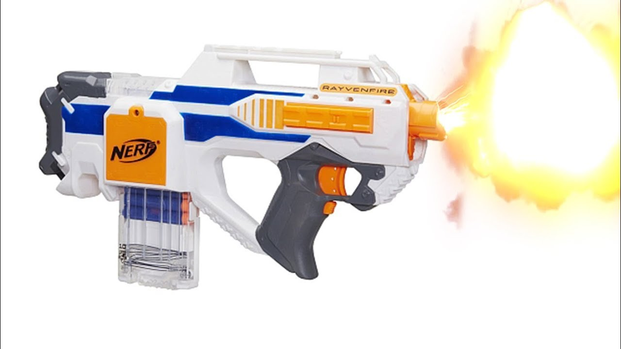 Nerf Blaster Unboxing Review Nerf Rayvenfire K