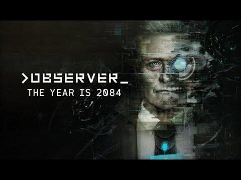 Observer Gameplay - Scary Cyberpunk Horror Game!