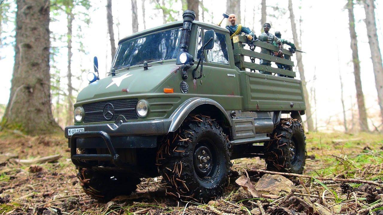 Rc Adventures Unimog On Patrol Tamiya Cc 01 4x4 Radio