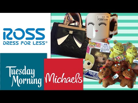 Tuesday Morning, Michaels, Ross haul