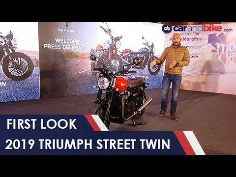 2019 Triumph Street Twin First Look | NDTV carandbike