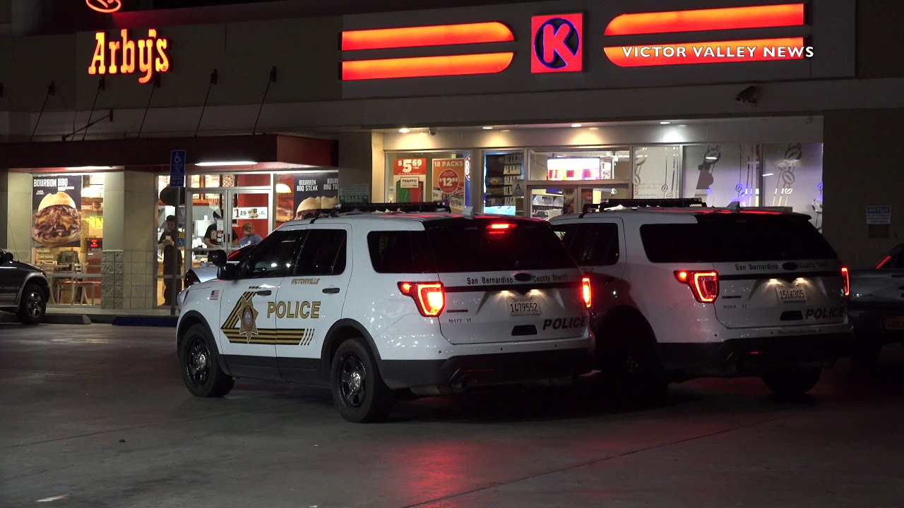 Shell Gas in Victorville Robbed at Gunpoint