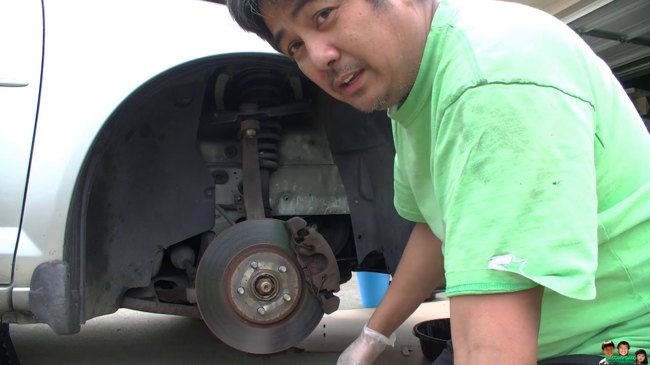 how to replace the serpentine belt on a 2005 chrysler sebring [ 1280 x 720 Pixel ]
