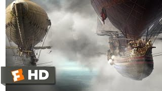 The Three Musketeers (7/9) Movie CLIP - Airship Battle (2011) HD
