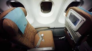 [Without Music Version] Garuda Indonesia A330-300 Flight Experience: GA328 Jakarta to Surabaya