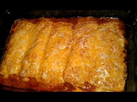 Yummy Chicken Enchiladas!!
