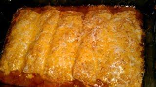 Yummy Chicken Enchiladas!!