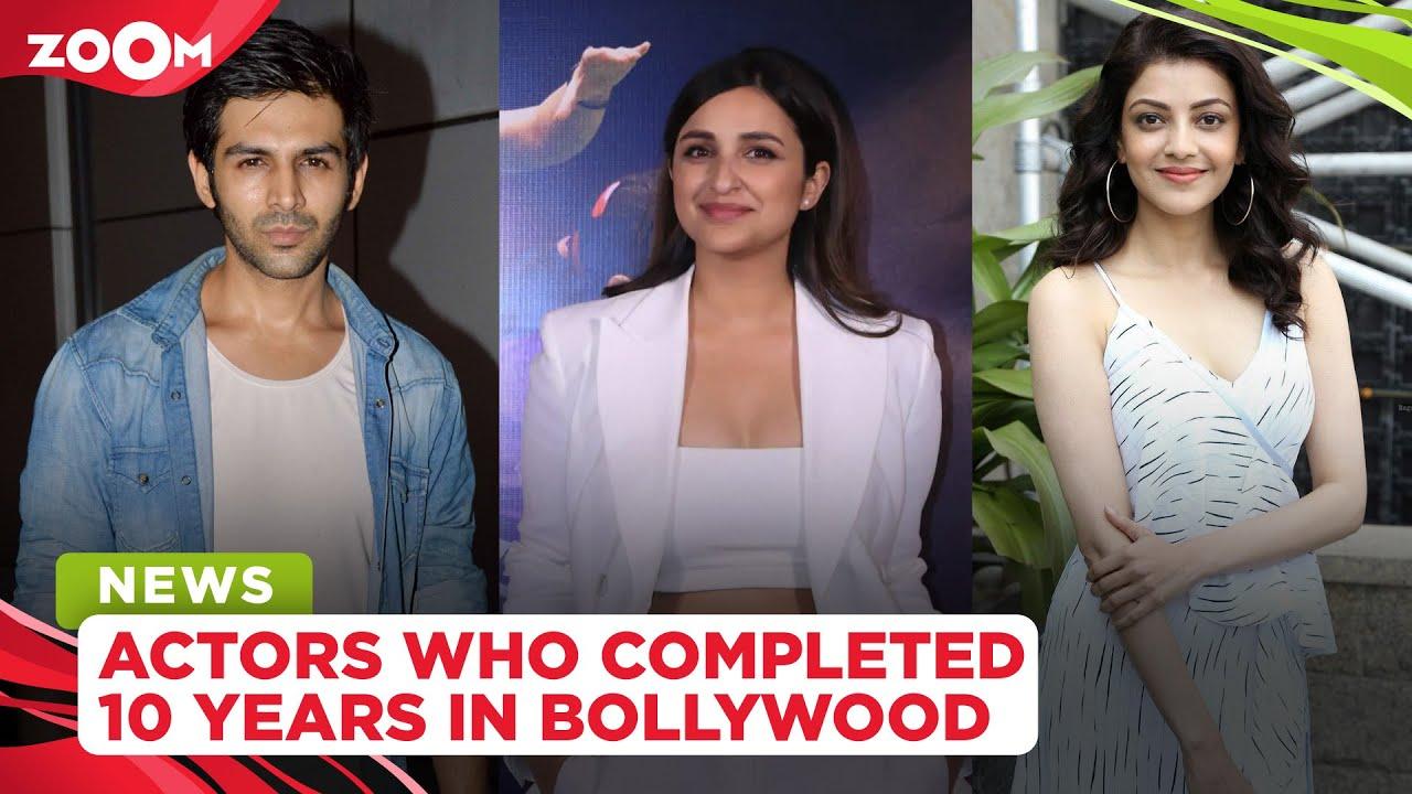 From Kartik Aaryan, Parineeti Chopra to Kajal Aggarwal, actors who completed 10 years in Bollywood