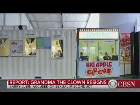 """NYT: """"Grandma The Clown"""" resigned after misconduct allegation"""