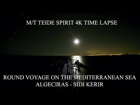 4K Time Lapse - A Round Voyage from Algeciras to Sidi Kerir