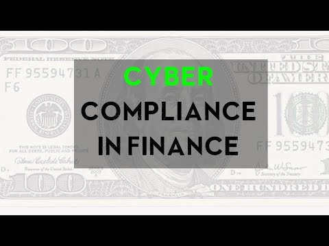 Cyber Compliance in Finance