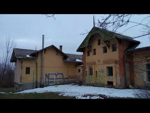 Budapest, elhagyatott Haggenmacher-villa