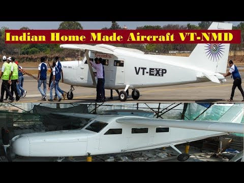 Indian Men Home Made 6-Seater Aircraft VT-NMD Cleared To Fly