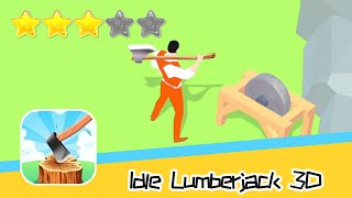 Idle Lumberjack 3D Walkthrough Chop & Sell! Recommend index three stars