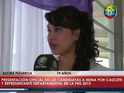 CANAL 6 - PRESENTACIÓN OFICIAL DE CANDIDATAS POR CAUCETE EN LA FIESTA ...