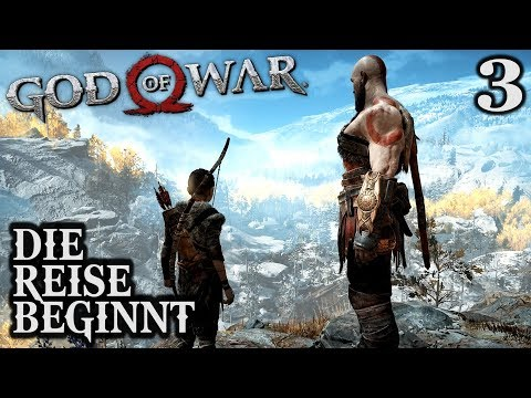God of War 4 Gameplay German #3 ► Die Reise beginnt ◄ | PS4 | Let's Play Deutsch | 2018
