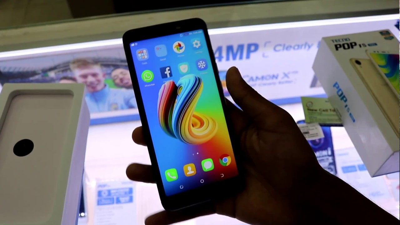 Tecno pop 1s pro unboxing and review 4K Bangla
