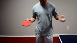 How to get more spin on serves (cool trick!) - Tutorial