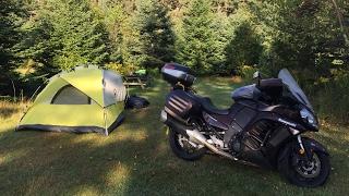Путешествие на мотоцикле. США - Канада. Лабрадор. Фильм 56. Приготовление горячей пищи в палатке