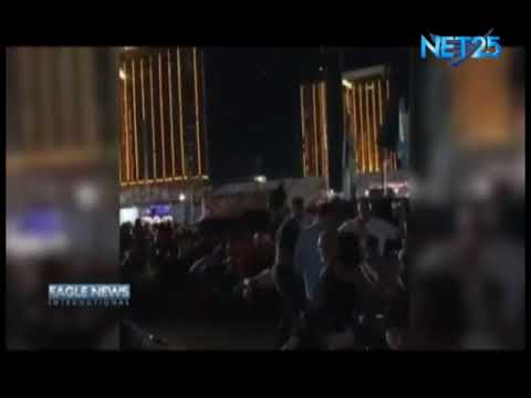 Amateur video of Las Vegas shooting