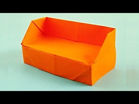 Макет мебели из бумаги своими руками для детей