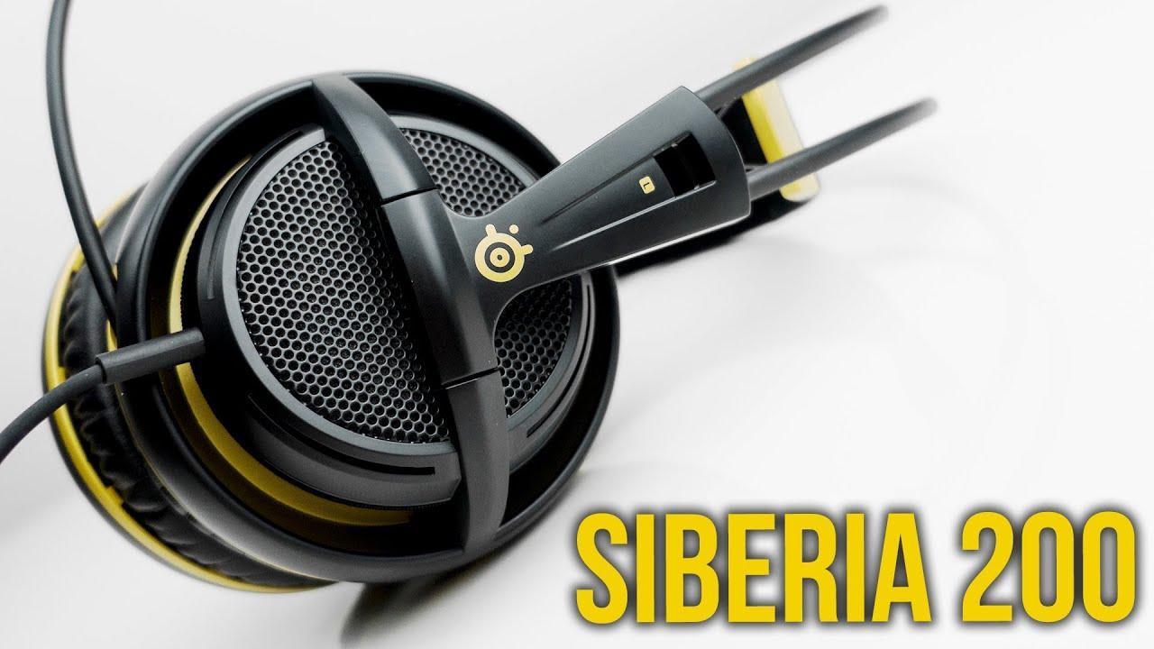 79ea61cb506 Steelseries Siberia 200 - Best value gaming headset? - YouTube