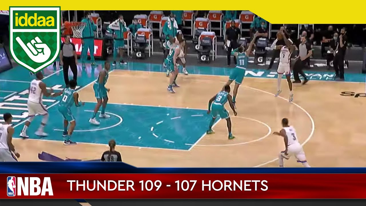 Oklahoma City Thunder – Charlotte Hornets Maç Özeti