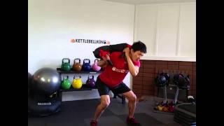 ブルガリアンサンドバッグの効果、トレーニング、使い方 thumbnail