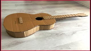 How To Make a Guitar From Cardboard