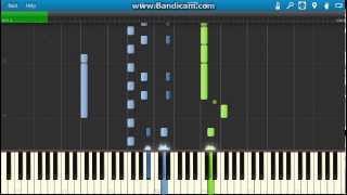 Giuseppe Verdi - La donna e mobile piano (Synthesia)