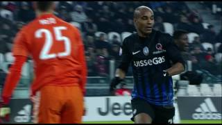 Il gol di Konko - Juventus - Atalanta - 3-2 - Tim Cup 2016/17