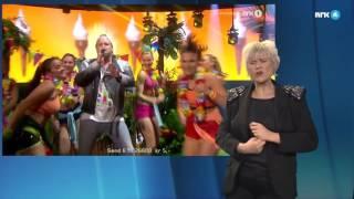 Freddy Kalas «Feel Da Rush» på tegnspråk   MGP 2016