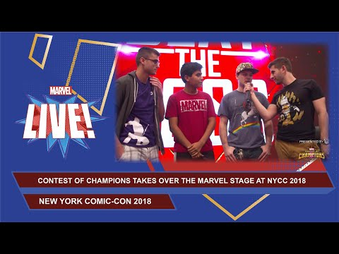 Marvel Contest of Champions: Ultimate Championship Showdown LIVE at NYCC 2018!