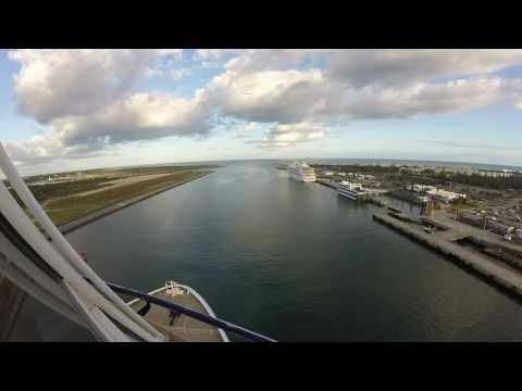 Norwegian Epic Sail Away, Port Canaveral, Florida