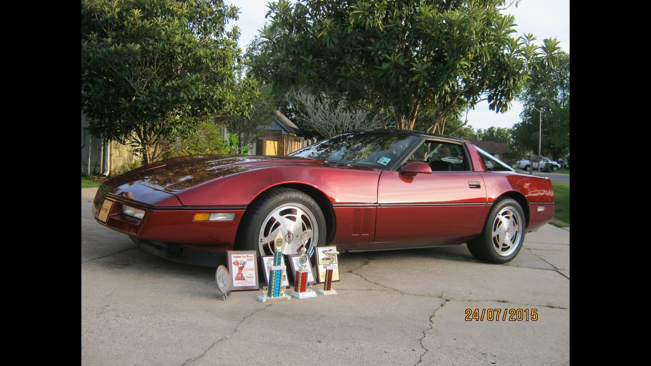 1988 Chevy Corvette T Tops 2nd Owner