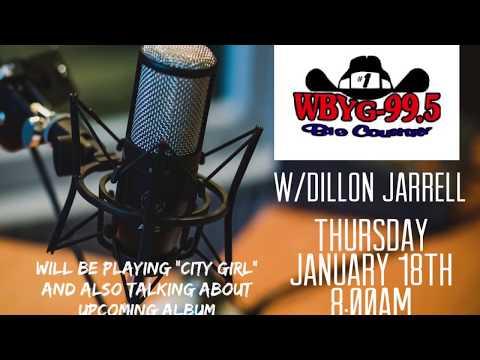 "Dillon Jarrell - WBYG ""Big Country"" 99.5 Radio Interview"