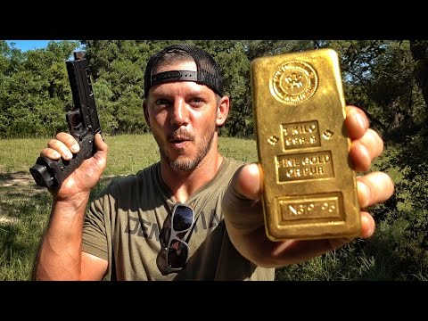 Is a Gold Bar Bulletproof? $45,000!!!