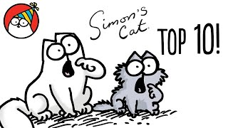 Top 10 Episode Countdown!  Simon's Cat | COLLECTION