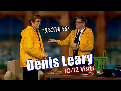 Denis Leary - Friends For 20+ Years - 10/12 Visits In Chronological Order