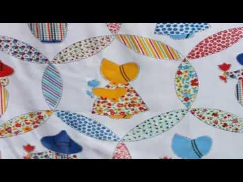 Fun Quilt Patterns Free Sunbonnet Sue Quilt Images Youtube