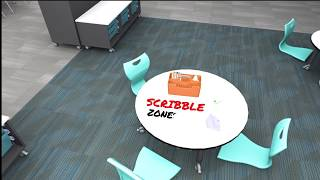 Scribble Zones by Muzo
