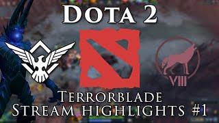 Dota 2 - Terrorblade Stream Highlights #1