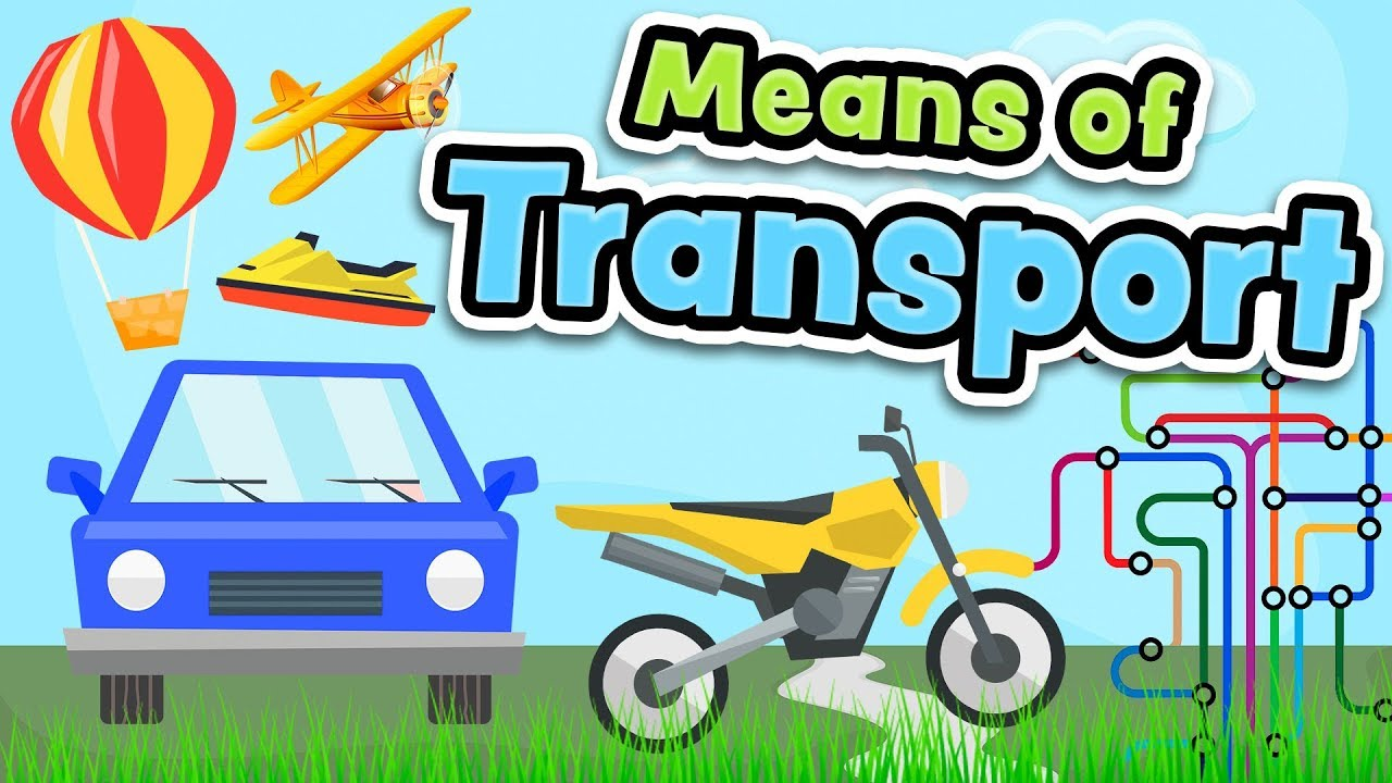 Means Of Transport In English For Kids