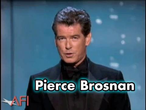 Pierce Brosnan Salutes Sean Connery at the AFI Lif...