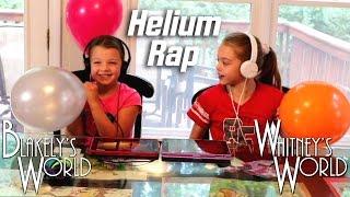 Helium Rap Challenge | Katy Perry Dark Horse | Whitney & Blakely