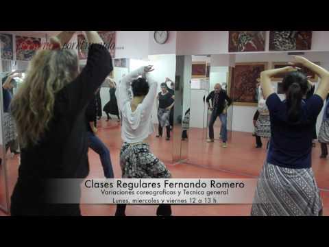 Fernando romero clases de flamenco en sevilla 2016